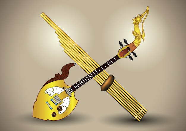 Pin & can musical instruments northeastthailand