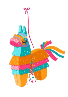 Pinata isolated on a white background