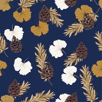 Pine nuts pattern