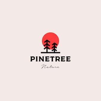 松の木のロゴ