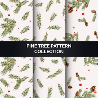 Pine tree pattern collection
