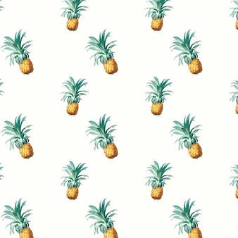 Pineapple pattern illustration