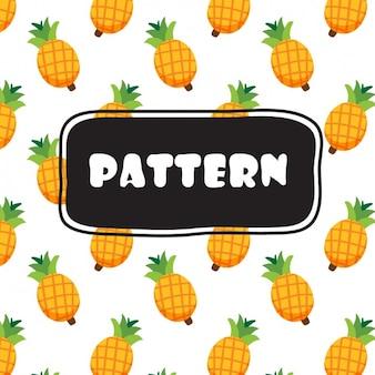 파인애플 패턴 디자인