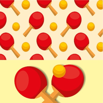 Ping pong ball racket ball sport competition pattern