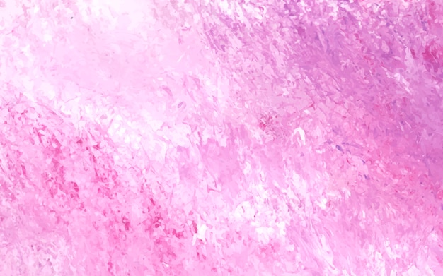 Pink abstract acrylic brush stroke textured background