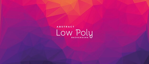 Pink abstract background, polygonal shapes