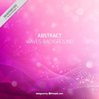 Pink abstract background with bokeh effect
