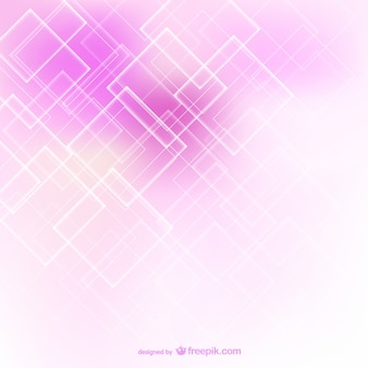 Pink abstract background with white squares