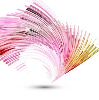 ピンクの抽象的な背景
