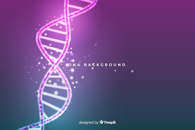 Pink abstract dna structure background