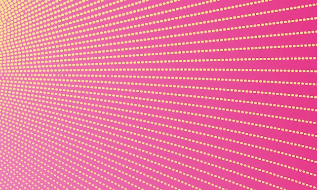 Pink abstract dotted line background