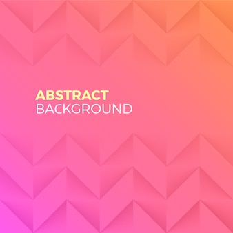 Pink abstract shape and textured background