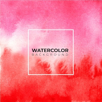 Pink abstract watercolor texture background, hand paint. color splashing on the paper Premium Vector