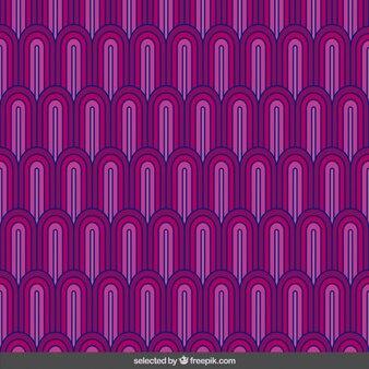 분홍색 추상 파도 패턴