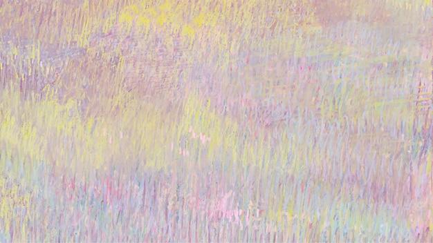 분홍색과 노란색 파스텔 질감 배경, 유명한 프랑스 예술가 edgar degas의 작품에서 리믹스.