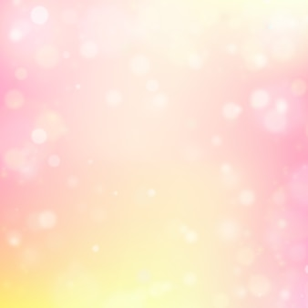 Pink and yellow shiny background
