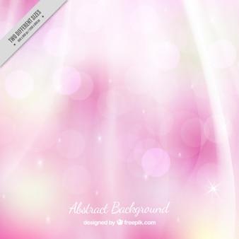 Pink background with sunburst