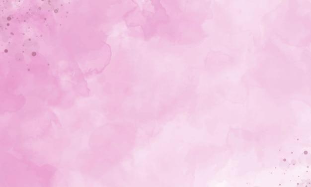 수채화 grunge 텍스처와 핑크 배경입니다.