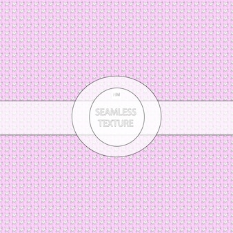 Pink background with white hearts