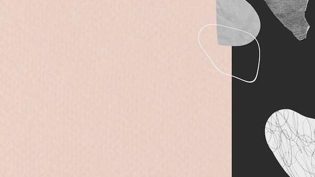 Pink and black textured background banner