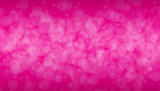 Розовый боке
