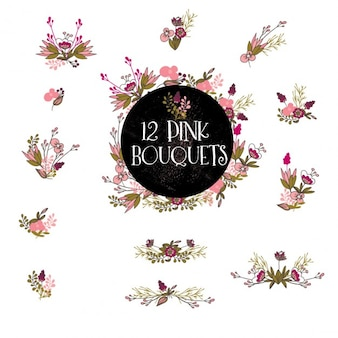 Pink bouquet collection