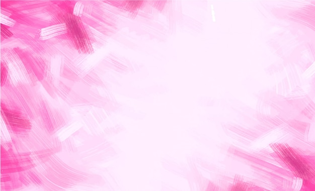 Pink brushstrokes background