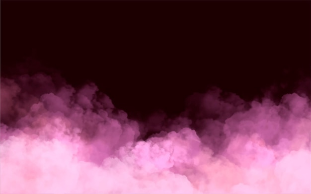 Pink cloud background