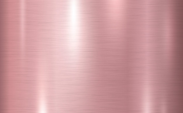 Pink copper metal texture background vector illustration