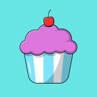 핑크 컵케이크
