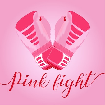 Pink fight