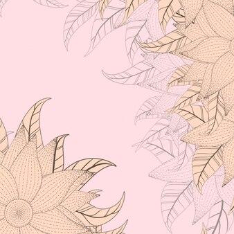 ピンクの花の背景