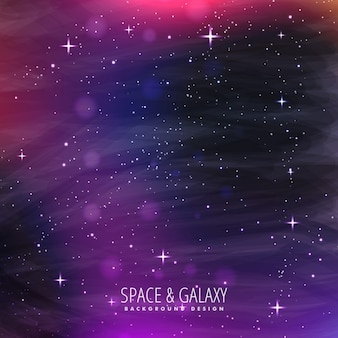 Pink galaxy background