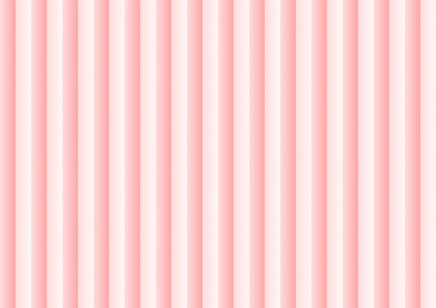 Pink geometric wave abstract background.