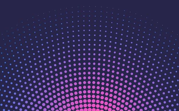 Pink gradient halftone background vector