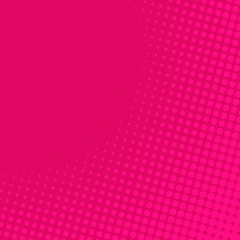 Pink gradient halftone background
