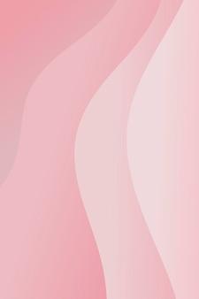 ピンクのグラデーションレイヤーパターンの背景
