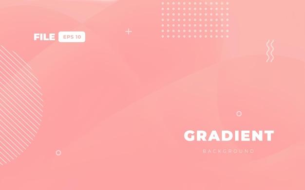 ピンクのグラデーションウェブの背景