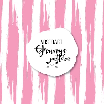 Pink grunge pattern on white background