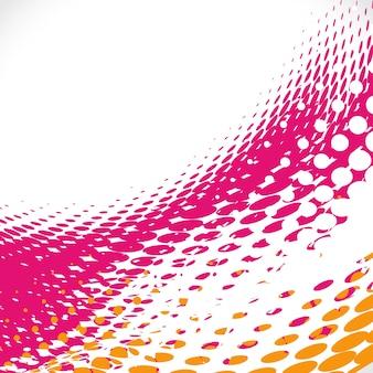 Pink halftone background
