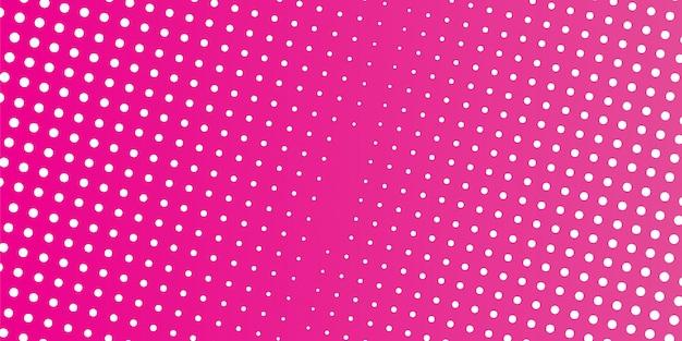 ピンクのハーフトーンデザイン