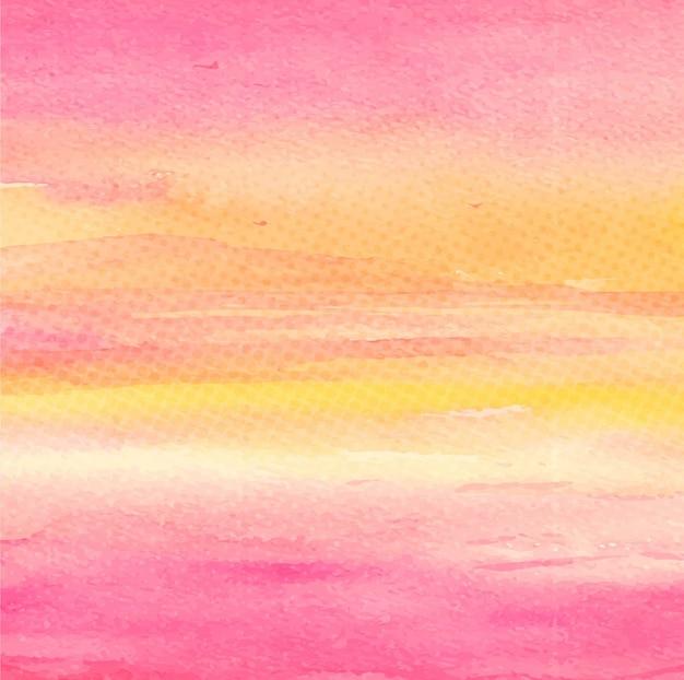 現代の水彩画の背景