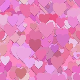 Cuori rosa sfondo pattern