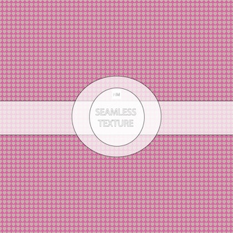 Pink hearts pattern background