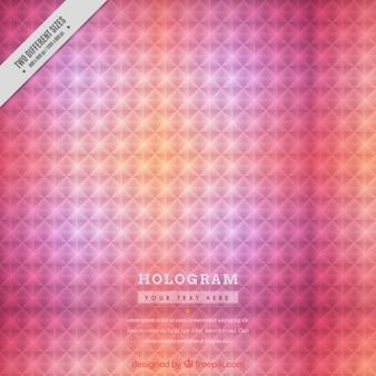 ピンクのホログラム背景