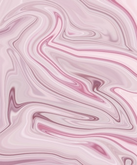 Pink liquid ink painting abstract pattern.