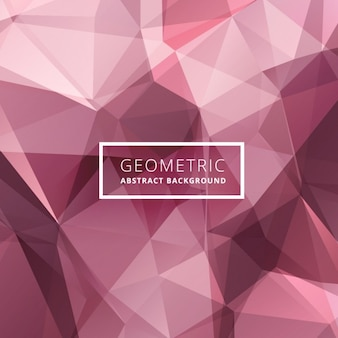 Pink low poly background