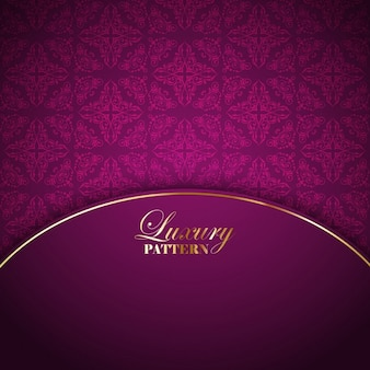 Pink luxury background with ornamental elements