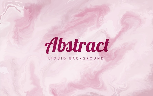 Pink marble liquid abstract background