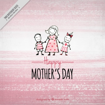 Pink mother's day background